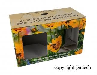 Geschenkspackungen  Imkerbund  2x 500g Bild