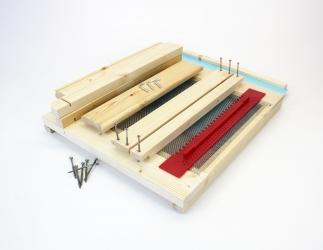 BK Gitterboden Hoch zum selber bauen; LT10 Falzlos / 425x513 Bild