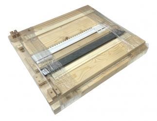 Gitterboden hoch selber bauen mit Anflugbrett; Dadant Blatt12 / 499x499 Bild