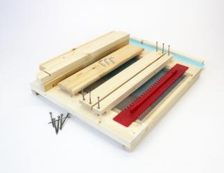 BK Gitterboden Hoch zum selber bauen; ZAMU10 / 420x490 Bild