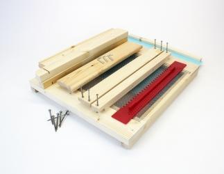 BK Gitterboden hoch zum selber bauen; EMMU Quadrat / 435x435 Bild