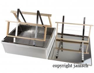 Entdeckelungsgeschirr für 2 Personen; Bild