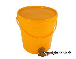 Abfüll-Hobbock gelb; 30 kg Bild