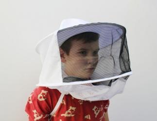 Kinder Imker-Hut mit Schleier; Universalgröße Bild