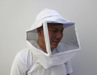Ami-Schleier mit Hut viereckig; Universalgröße Bild