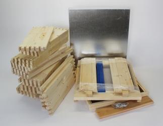 Set selber bauen; ÖBW12 Flachzarge/ 490x490 Bild