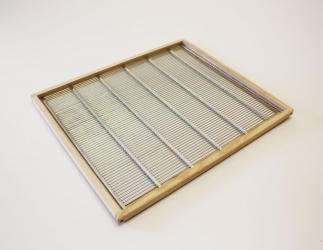 Rahmen mit Rundstabgitter; ÖBW12 / 490x490 Bild