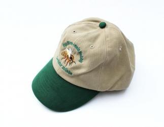 Imkermütze beige-grün; hochwertige Schirmmütze Bild