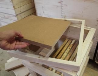 Innendeckel mit Glasboden passend auf Glaszarge; ZAMU10 + ÖBW10 / 420x490 Bild