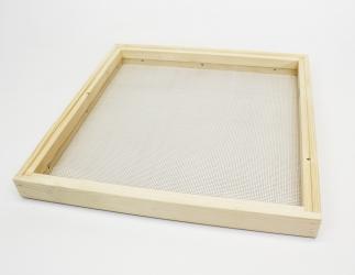 Wander- Lüftung Rahmen; Dadant AMI10 / 513x425 Falzlos Bild